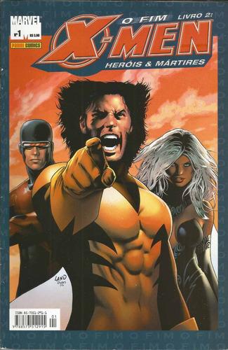 x-men o fim livro 02 herois & martires 01 bonellihq cx64 f19