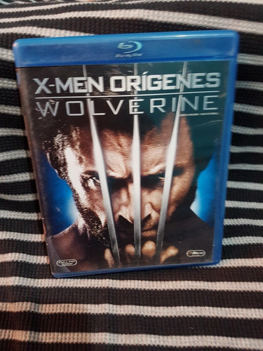 x-men origenes wolverine - blu ray original seminuevo