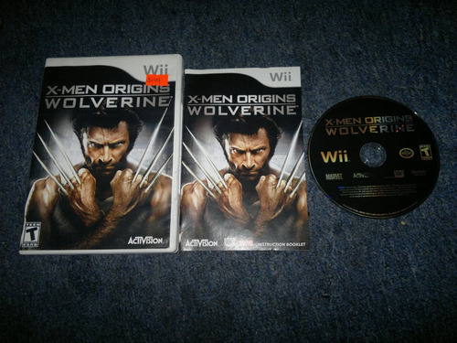 x-men origins wolverine completo para nintendo wii,excelente