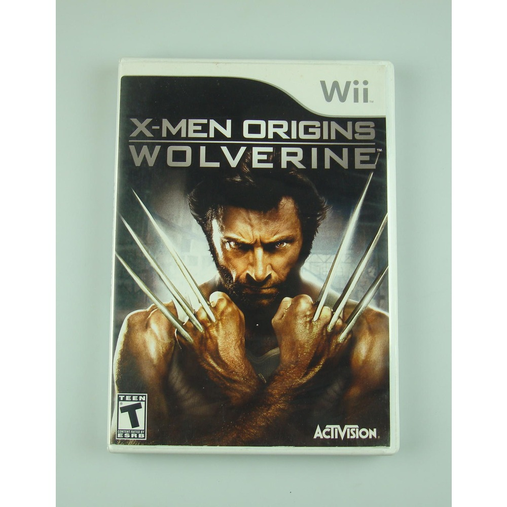 64b5f9e79f6cd X-men Origins Wolverine   Wii - Original E Completo! - R  54,99 em ...