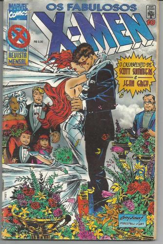x-men os fabulosos - nº10 - marvel comics.