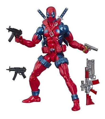 x-men retro marvel legends figura deadpool de 6 pul