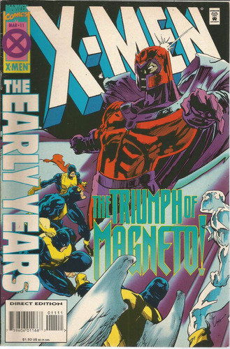 x-men the early years 11 - marvel  - bonellihq cx424 h18