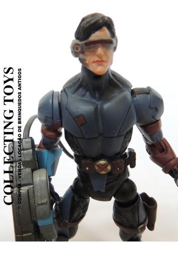 x-men / toy biz - cyclops com luz no canhão 16,5 cm  (xc 6)