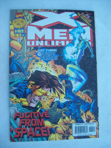 x-men unlimited nº 13 - fugitive from space - 1996 - marvel