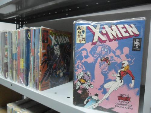 x-men! várias! editora abril 1989-1993 r$ 15,00 cada!
