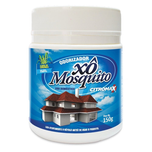 xô mosquitos da citromax - 2x150g