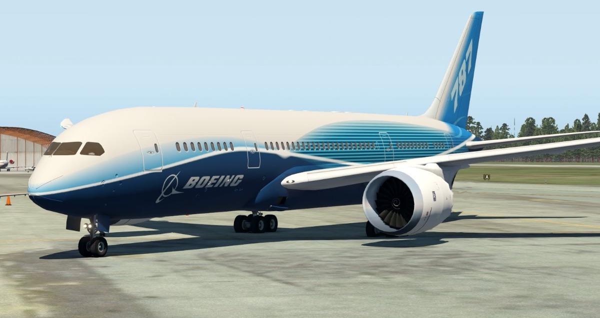 X-plane Boeing 787- Dreamliner V1 03 Xp11
