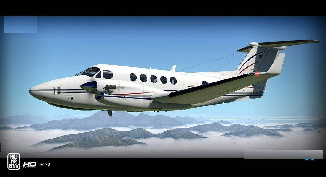 X-plane Carenado B200 King Air Hd Xp11