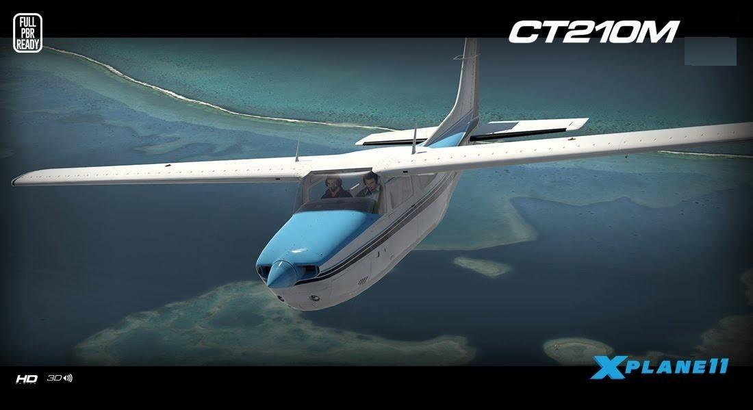 X-plane Carenado Ct210m Centurion Ii Xp11