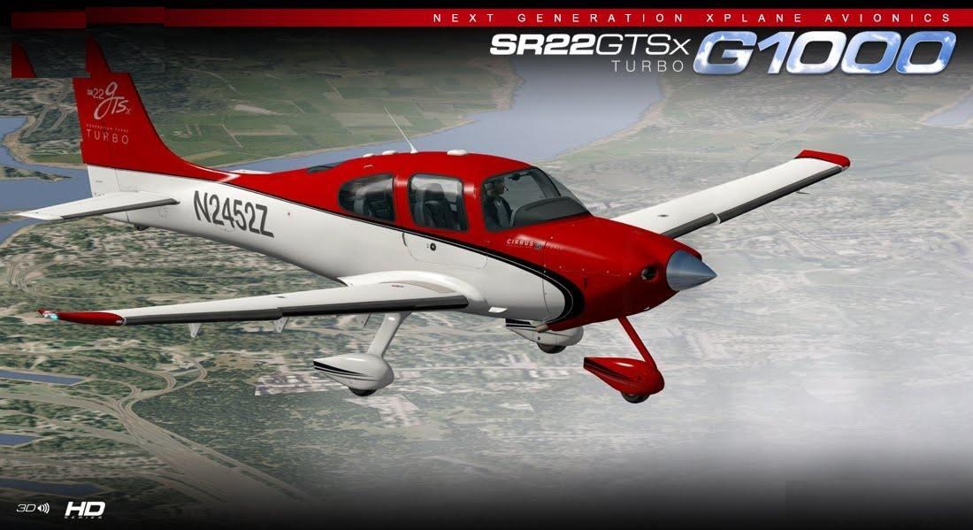 X-plane Carenado Sr22 Gtsx Turbo V3 3 Xp11