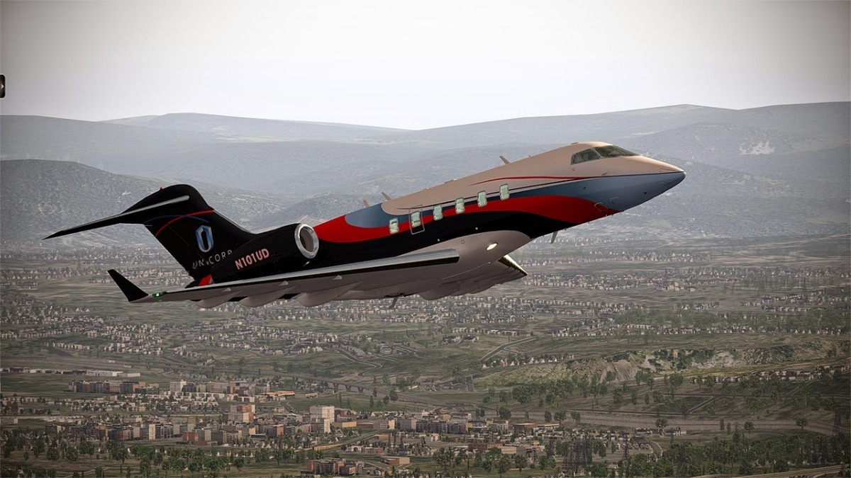 X-plane Challenger 300 V2 013 Captain Edition Xp11