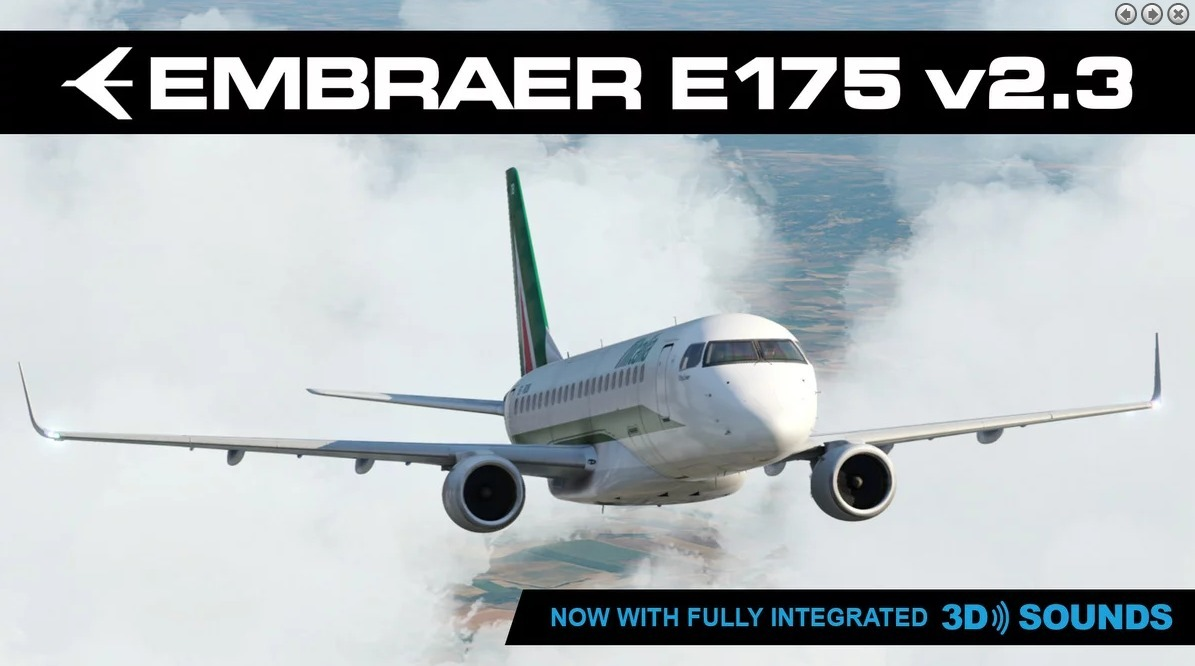 X Plane 11 Embraer