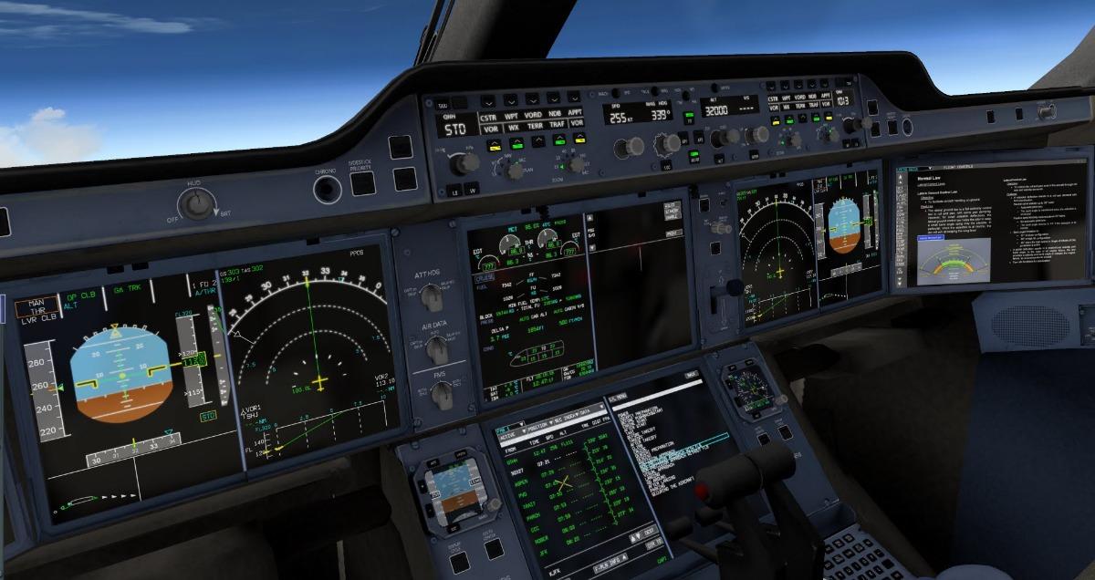 X Plane Flight Factor A350 Xwb Advanced V 1 48 Xpl11