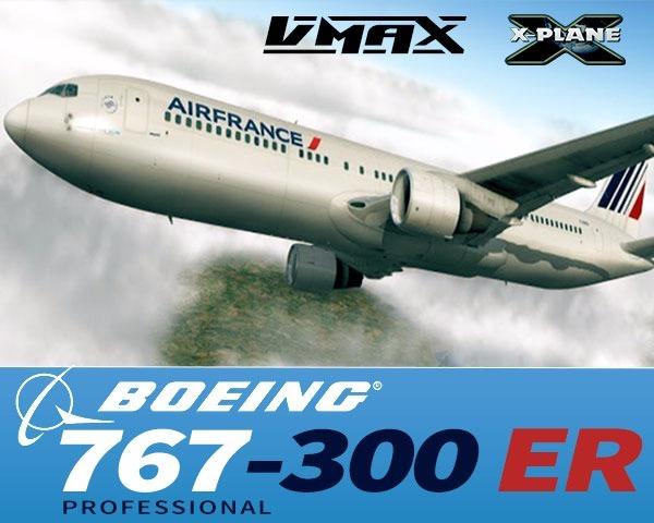 X-plane Flight Factor Boeing 767 | Original