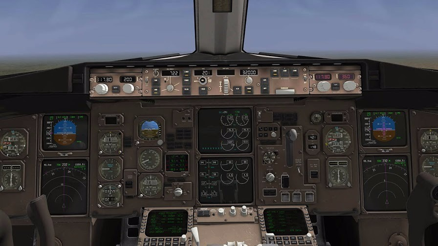 X-plane Flight Factor Boeing 767 | Original