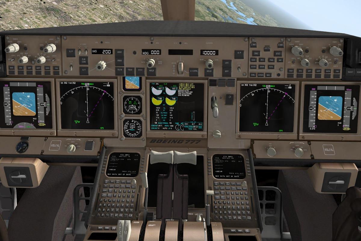 X-plane Flight Factor Boeing 777 Worldliner Ext V1 9 16 Xp11