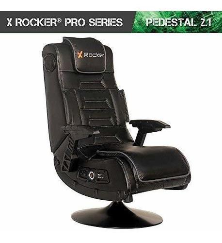 x rocker 51396 pro series pedestal 21 video juego de silla i