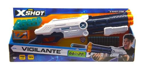 x-shot escopeta vigilante 12d y latas original 01172 bigshop