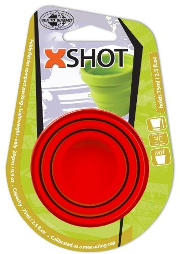 Sea To Summit-x-Shot-plegable taza de espresso