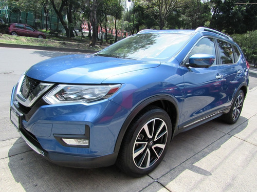 x-trail 2.5 exclusive 2 row cvt azul electrico 2018