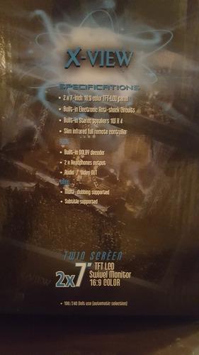 x-view dvd portátil pd 212