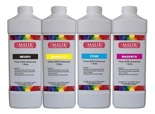 x1 litro tinta dye universal compatible con todas las marcas