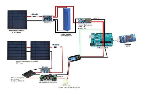 x10 cargador bateria litio 3.7v 18650 modulo tp4056 micro