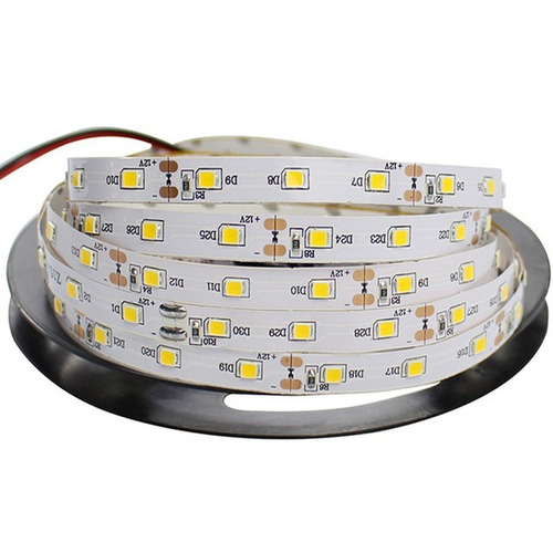 x10 cinta led 5m profesional 2835 blanco cálido 2800-3000k