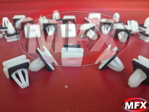 x10 presilhas de fixação moldura honda civic crv legend kit