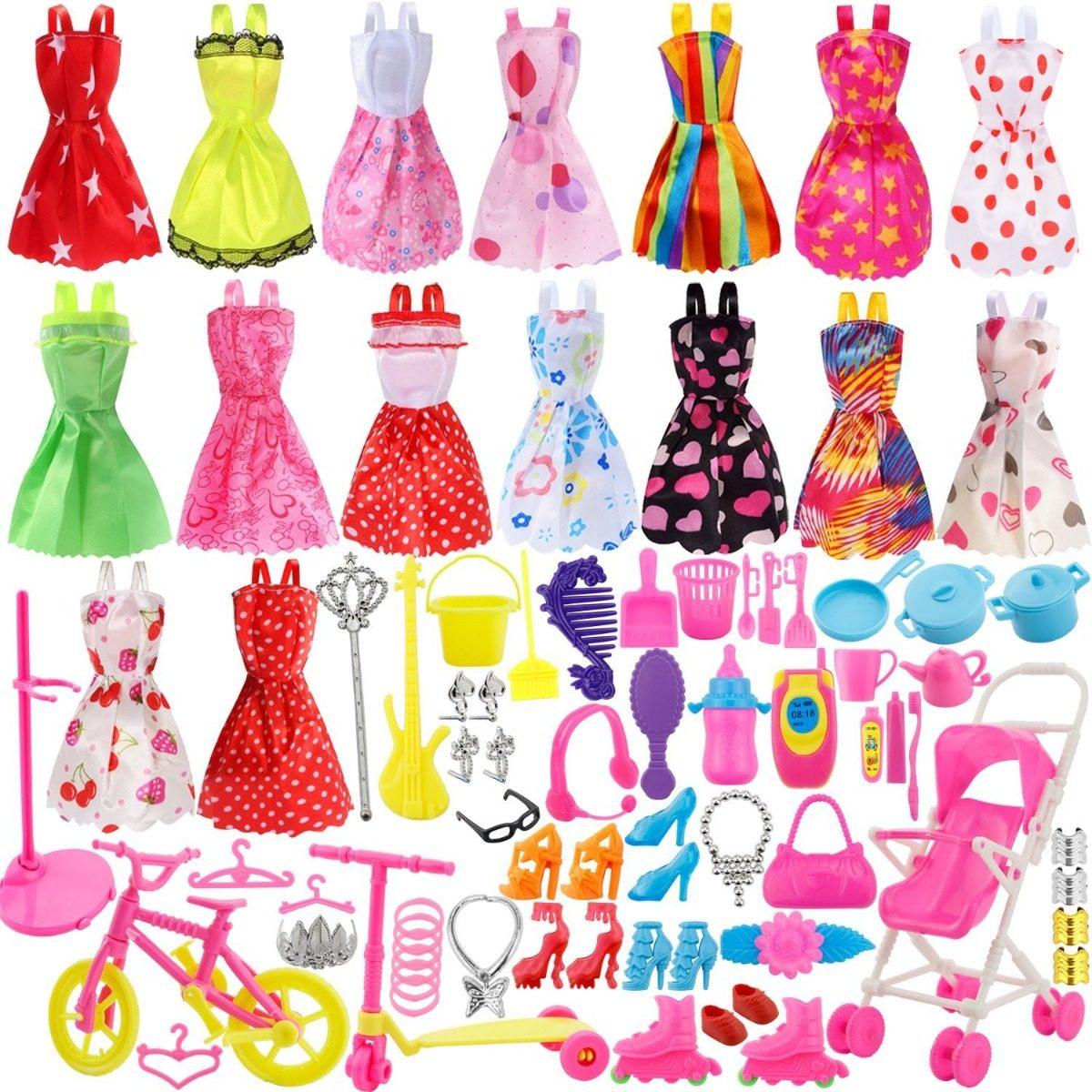 De Artículos Para Zapatos Barbie X114 Ropa Accesorios q3R54AjL