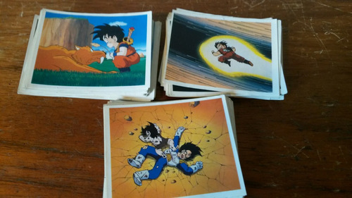 x115 figuritas dragon ball z sin repetir