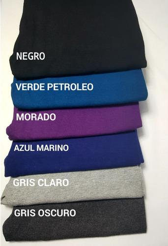 x12 calzas recta / algodon/ colores /nacional / envio gratis