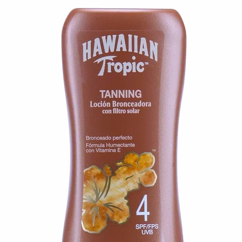 x2 bronceador filtro solar hawaiian tropic tanning 4spf 240