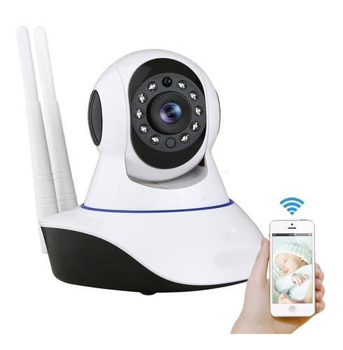 x2 camara ip wifi hd motorizada vision nocturna 360 ml1828