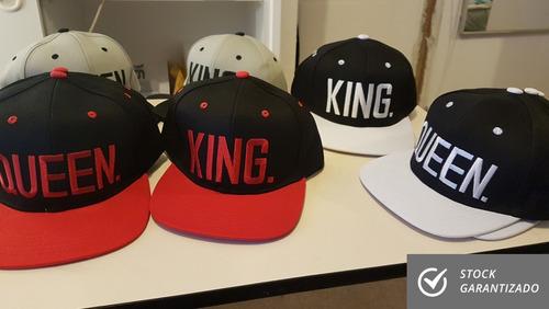 x2 gorros king-queen / gorro novios / pololos / envío gratis