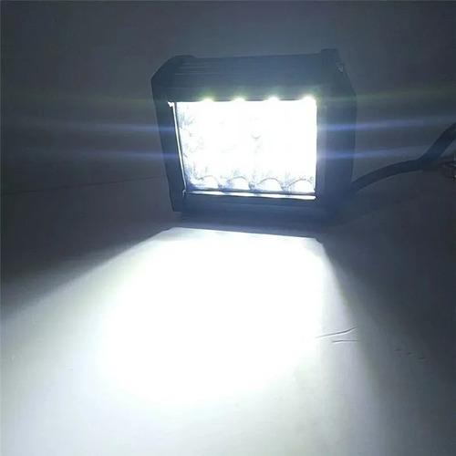 x2 luces foco neblinero led 36w auto moto comiontenta / 6008