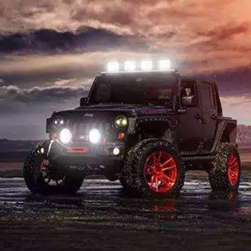 x2 luces foco neblinero led 60w auto moto comion / 215025