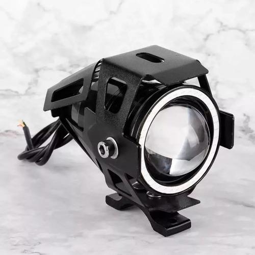 x2 luces foco neblinero led u7 ojos de angel moto / 215097