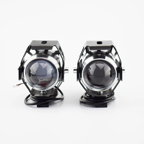 x2 luces foconeblinero led ojos de angel moto u5 / 206065
