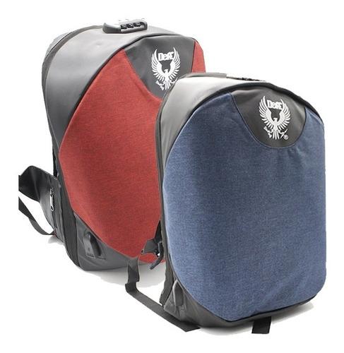 x2 mochila seguridad antirrobo deff 3.0 envios gratis ml0567