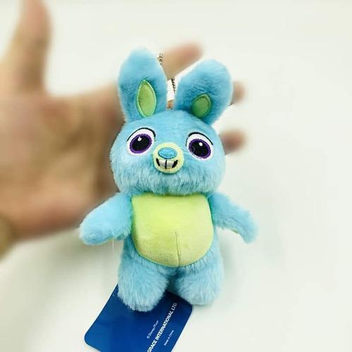 x2 peluche llavero toystory 4 bunny 15cm y ducky 12cm orig