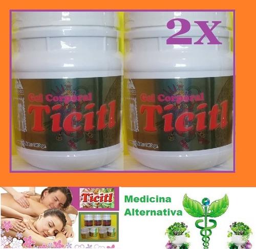 x2 ticitl alivia el dolor de músculos, artritis y reumas