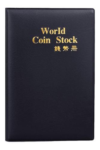 x2 unidades álbum para 120 monedas numismática sin cartón