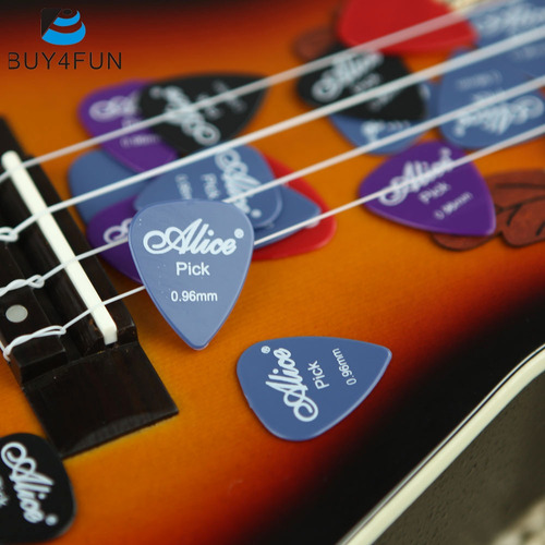 x20 picks/pajuelas alice para guitarra