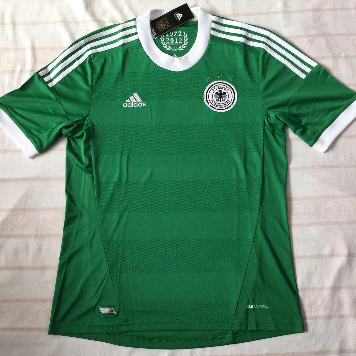 242f57a83c x21412 camisa adidas alemanha away 12 13 m verde fn1608. Carregando zoom.