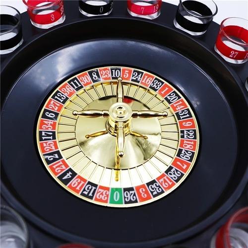 x3 juego ruleta casino shots tragos licor tequila / 204001