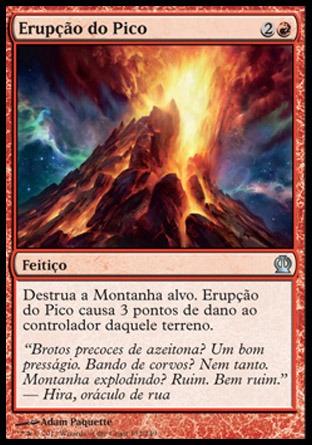 x4 erupção do pico / peak eruption