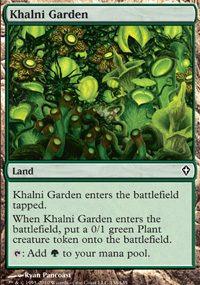 x4 jardim de khalni (khalni garden) - worldwake