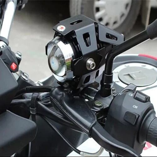 x4 luces foco neblinero led ojos de angel moto u5 / 206065